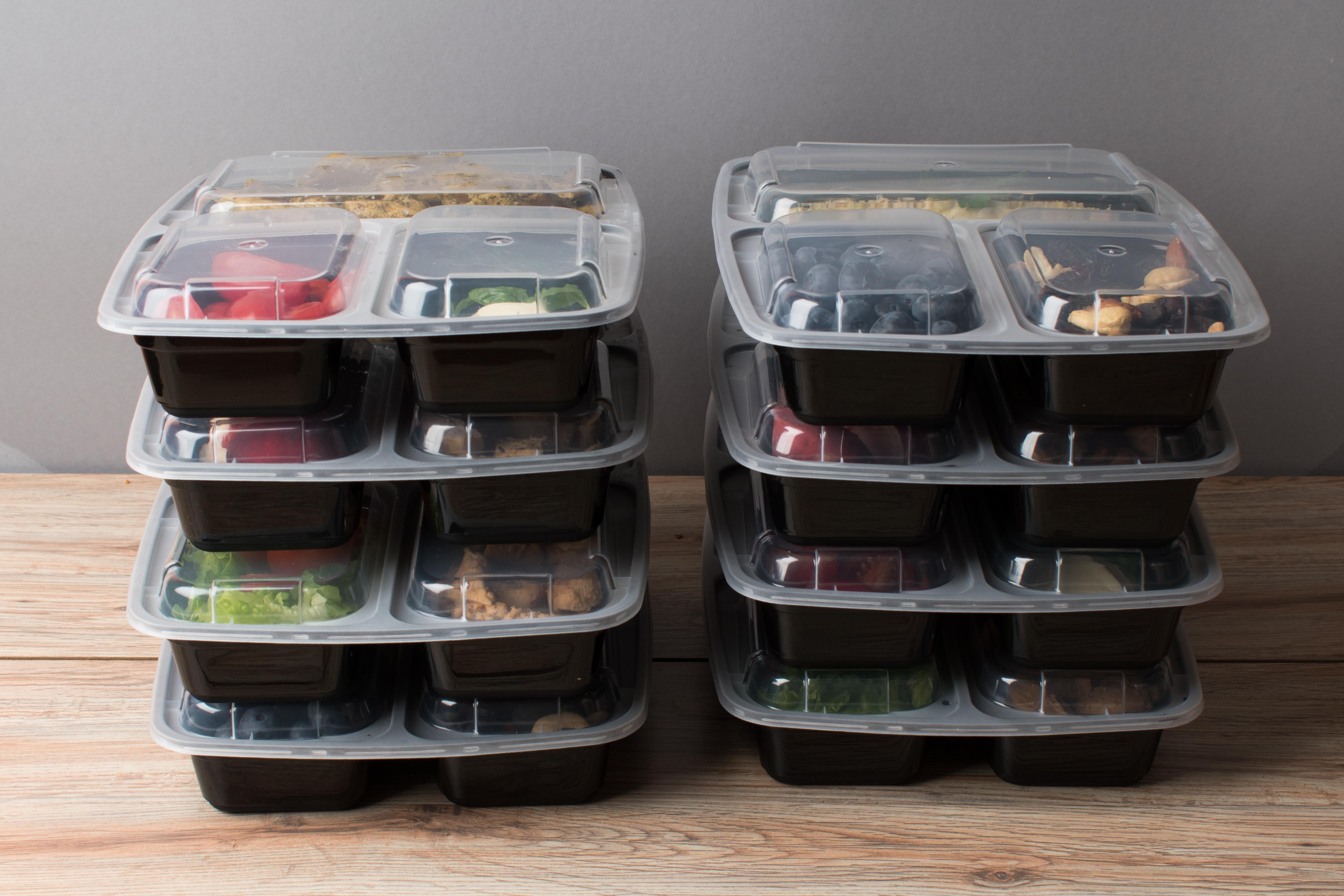 Foodprep kastītes – labāk stikla vai plastmasa?